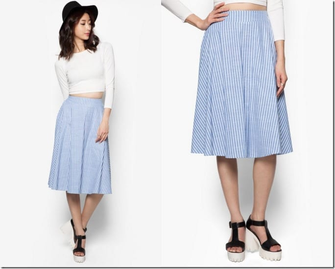 nautical-stripe-high-rise-midi-skirt