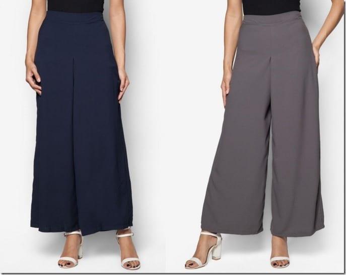 5 Versatile Drape Style Palazzo Pants