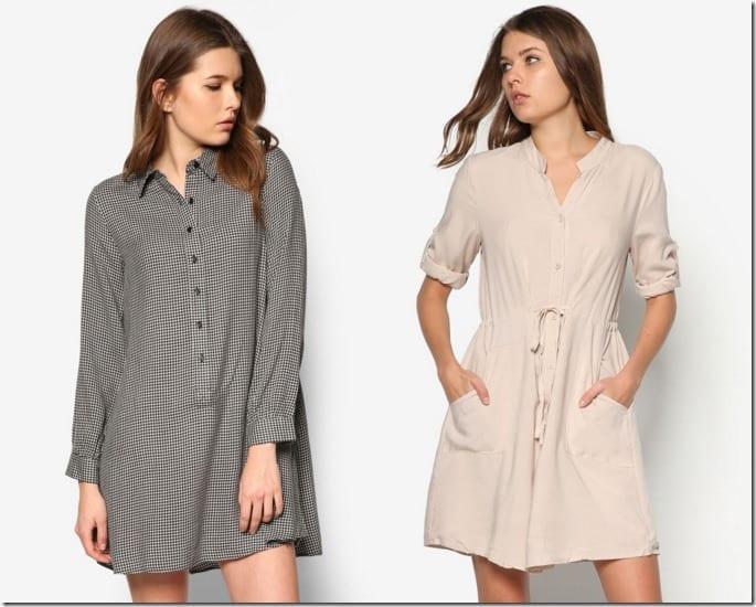 5 Breezy Shirt Dress Styles For The Minimalist Dresser