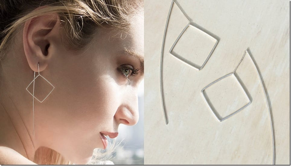 square-chain-threader-earrings