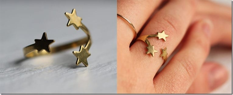 adjustable-gold-star-ring