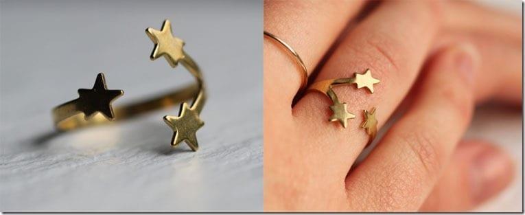 adjustable-gold-star-ring