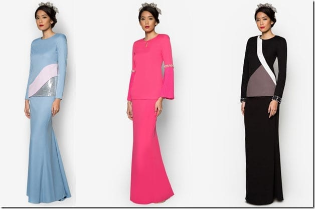 5 Statement Modern Baju Kurung Ideas For Raya 2016