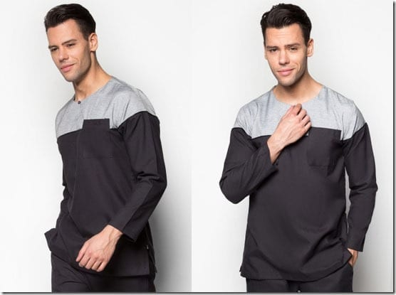 black-grey-baju-melayu