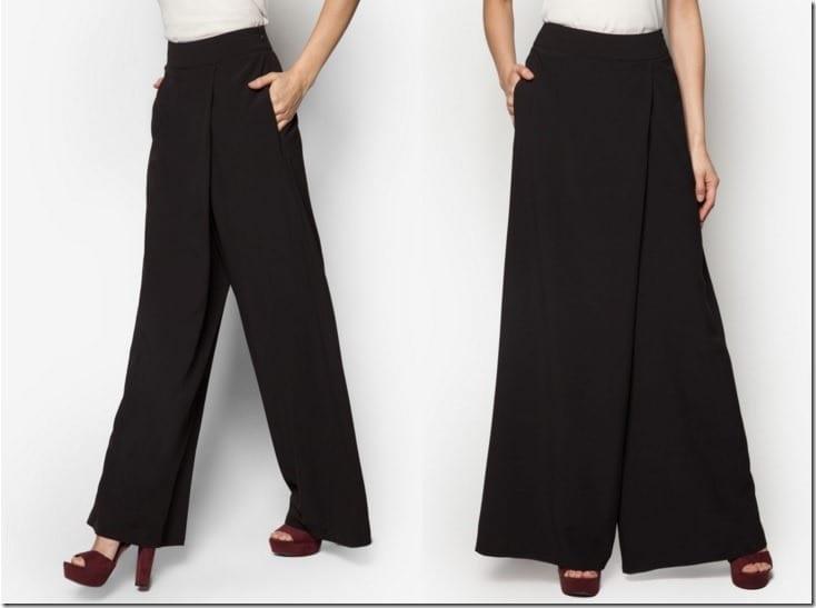 black-wrap-palazzo-pants