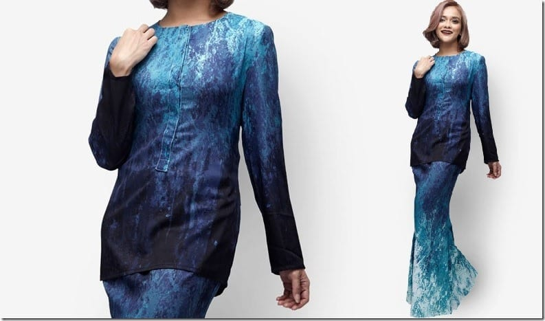 blue-sea-modern-kurung