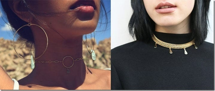 Chic Gold Choker Necklace Ideas To Elevate Everyday Outfits