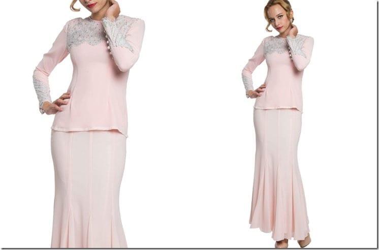 embellished-pink-kurung-modern