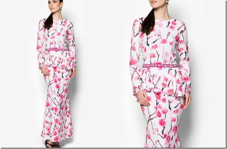 floral-pink-baju-kurung