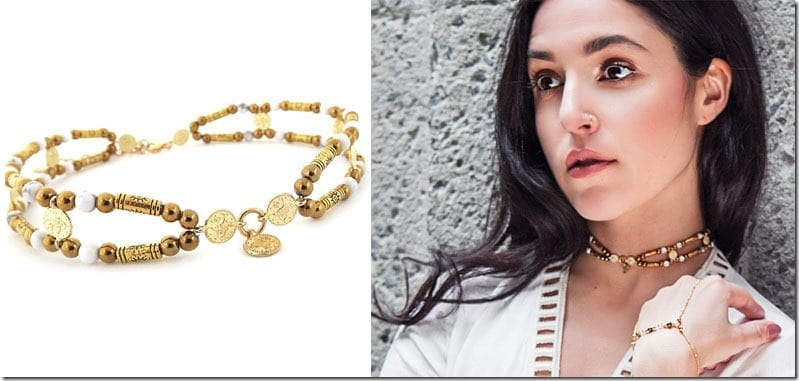 gypsy-beaded-gold-choker-necklace