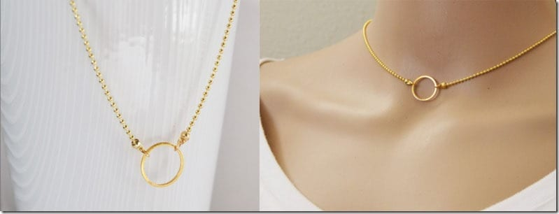 karma-circle-gold-choker-necklace