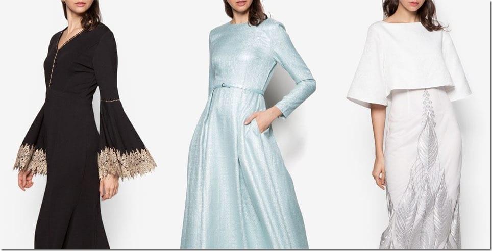 Princess-y Maxi Dress Ideas For Raya 2016