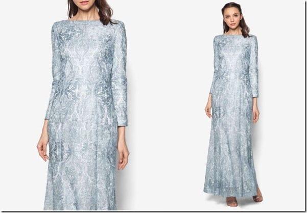 metallic-blue-lace-mermaid-dress