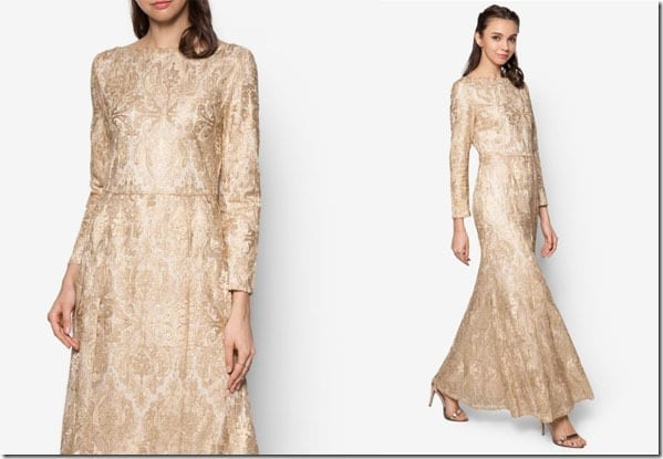 metallic-gold-lace-mermaid-dress