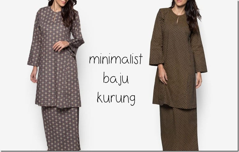 Simple Affordable Baju Kurung Ideas For Raya 2016