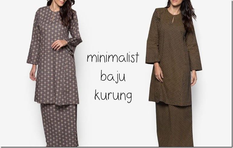 Simple Affordable Baju Kurung Ideas For Raya 2016