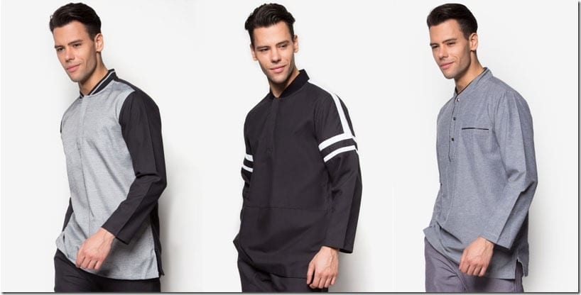 Sporty Baju Melayu For Men To Wear For Raya 2016