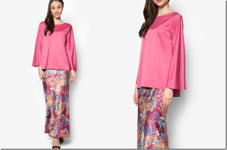 rose-pink-print-kurung