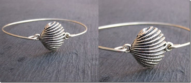 seashell-charm-bangle