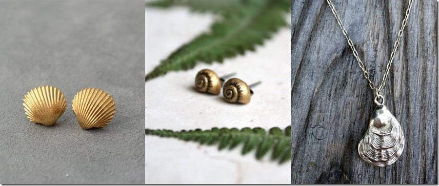 Seashells ~ Jewelry Inspiration From The Sea