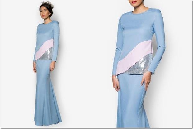 sky-blue-baju-kurung