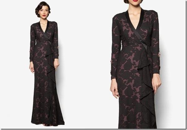 sleek-black-abstract-maxi-dress