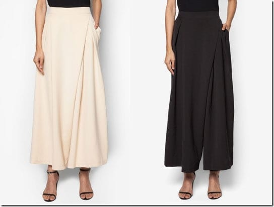 The Bottom Of Your Baju Raya ~ Unique Flowy Pants To Set It Apart