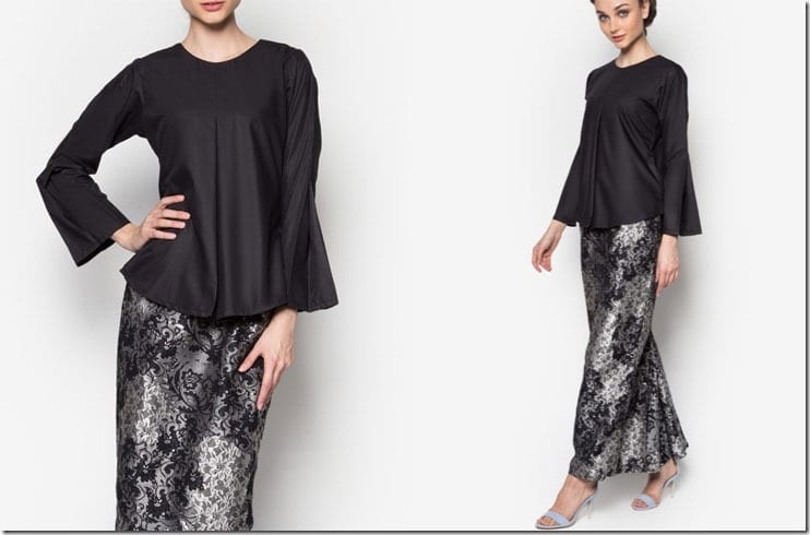black-songket-inspired-kurung