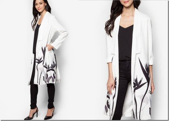 black-white-floral-print-cardigan