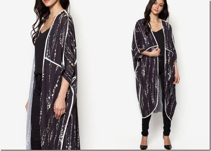 black-white-maxi-floral-kimono-cardigan