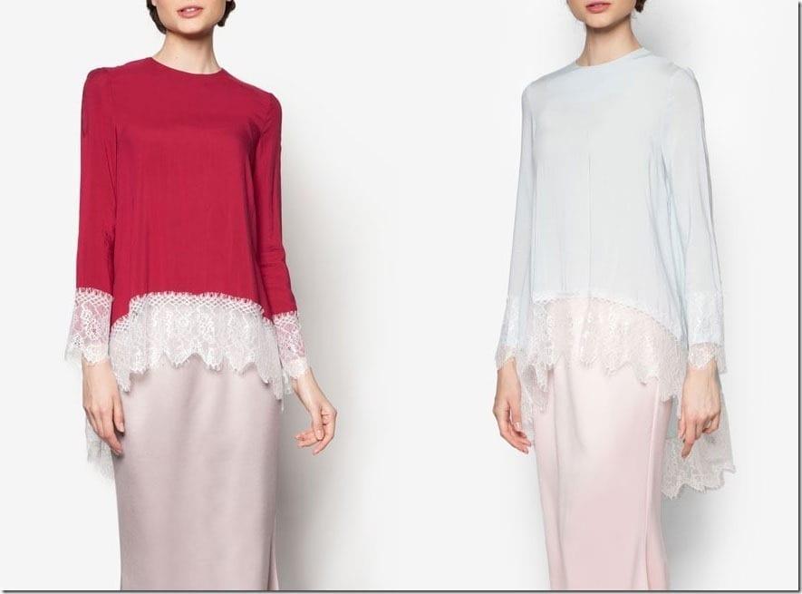 Dreamy Lace Baju Kurung For Raya 2016