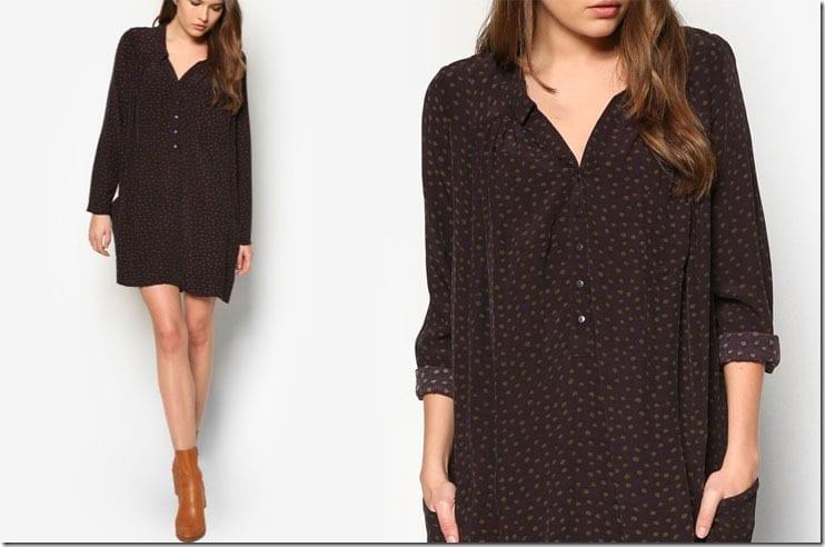 flowy-polka-dot-long-sleeve-dress