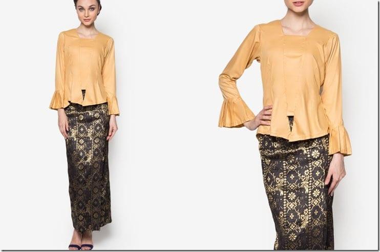 gold-flare-sleeve-kebaya