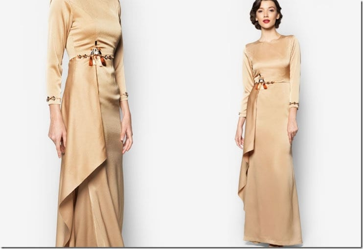 gold-tassel-crystal-waist-dress