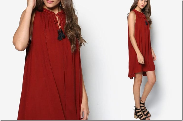 grecian-style-red-dress