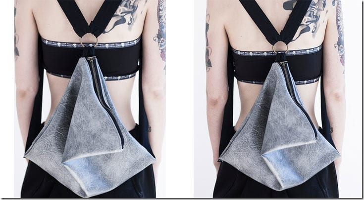 grey-draped-triangle-backpack