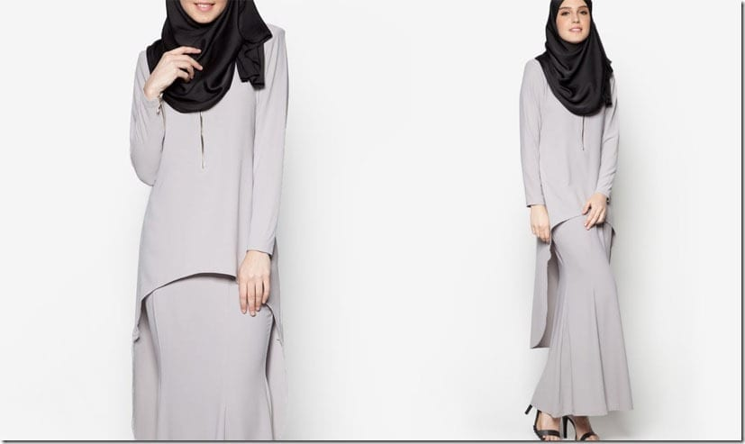 grey-high-low-kurung