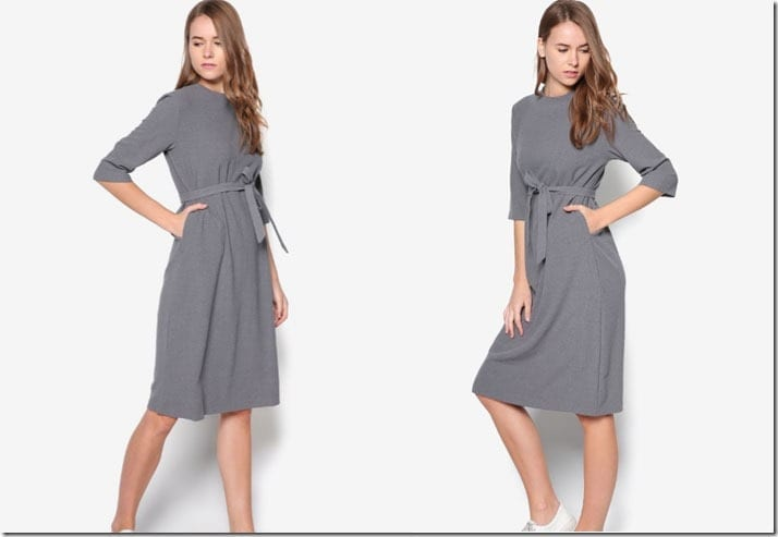 grey-midi-shift-sash-dress