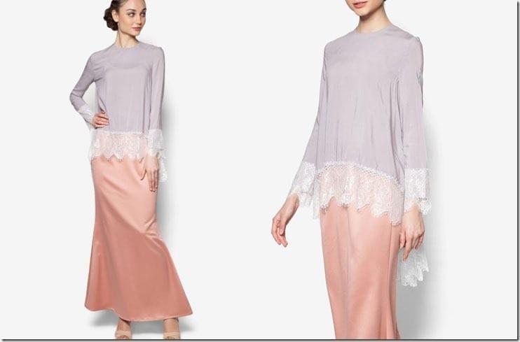 grey-pink-lace-kurung