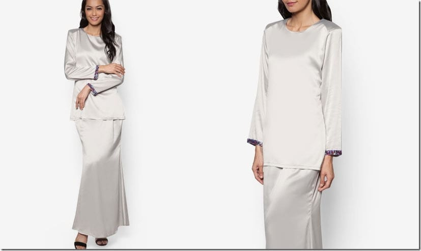 grey-satin-kurung