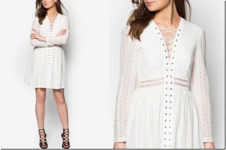 ivory-cross-strap-lace-dress