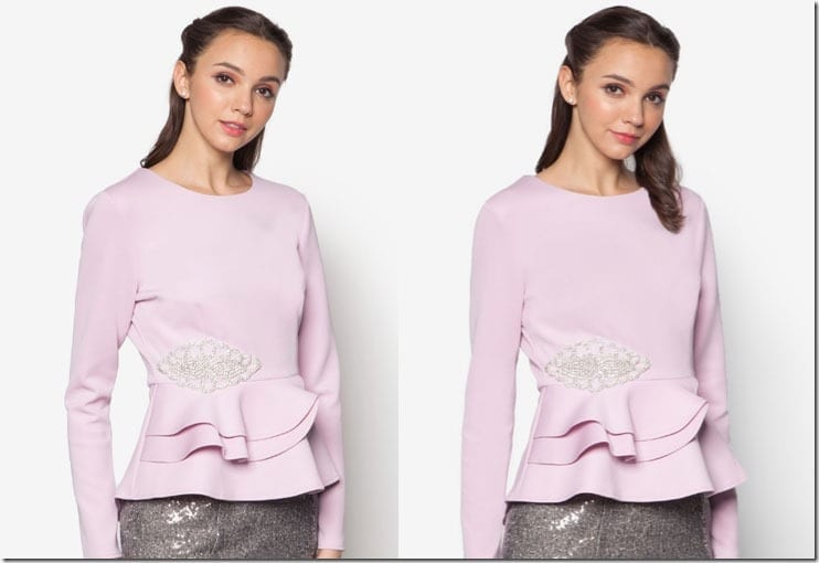 lilac-embellished-peplum-top