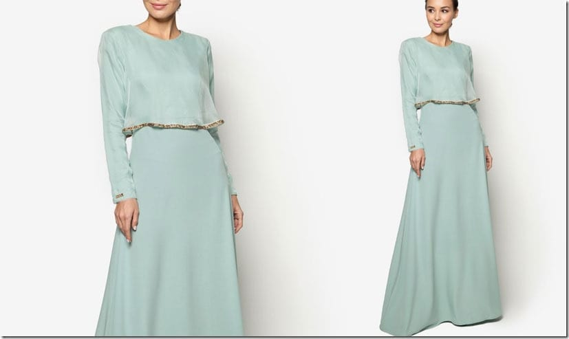 mint-green-cape-dress