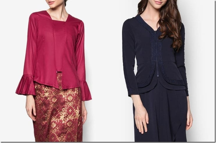 Modern Kebaya Style Ideas For Raya 2016