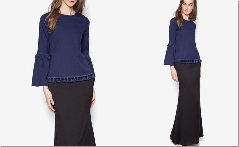 navy-black-tassel-sleeve-kurung