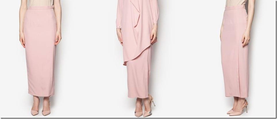 peach-long-wrap-style-skirt