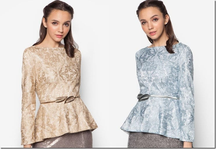 6 Peplum Top Ideas For Your Raya 2016 Wardrobe