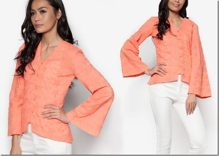 salmon-pink-kebaya-top