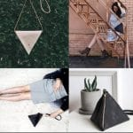 Fashionista NOW: 7 Unique Triangle Shaped Bag Ideas To Turn Any Basic Outfit Around
