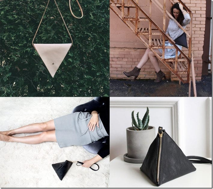 7 Unique Triangle Shaped Bag Ideas To Turn Any Basic Outfit Around
